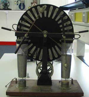 Electricidad por frotamiento - Generador de electricidad ...
